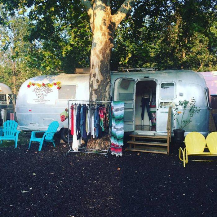 Austin Food Truck Park Barton Springs