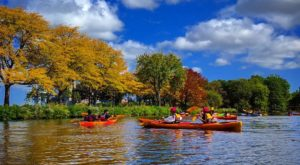 Most People Don't Know There's a Kayak Park Hiding In Massachusetts