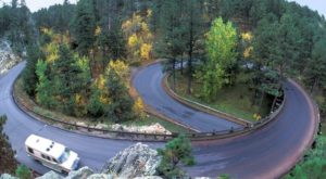 South Dakota's Windiest Road Has Over 300 Curves And It's Not For The Faint Of Heart