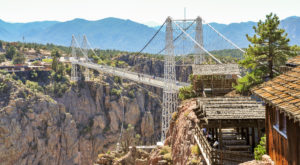 The Stomach-Dropping Suspended Bridge Walk You Can Only Find In Colorado