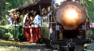 There's A Train Themed Amusement Park In Northern California The Whole Family Will Love