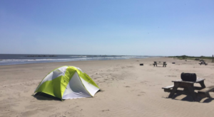 You Can Sleep Right On The Beach At This One Park In Louisiana