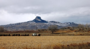 Few People Know The Crazy Story Behind This Wyoming Mountain And It's Fascinating