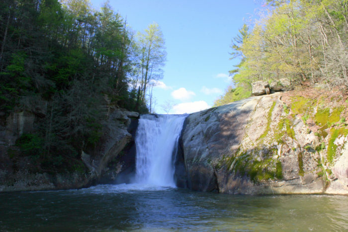 The Hike To Elk River Falls In North Carolina Leads To A