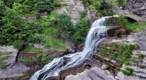 This Waterfall Staircase Hike May Be The Most Unique In All Of New York