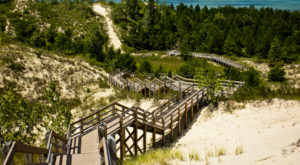 This Beautiful Boardwalk Trail In Indiana Is The Most Unique Hike Around