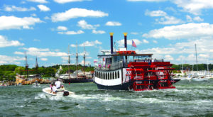 Spend A Perfect Summer Day On This Old-Fashioned Paddle Boat Cruise In Massachusetts