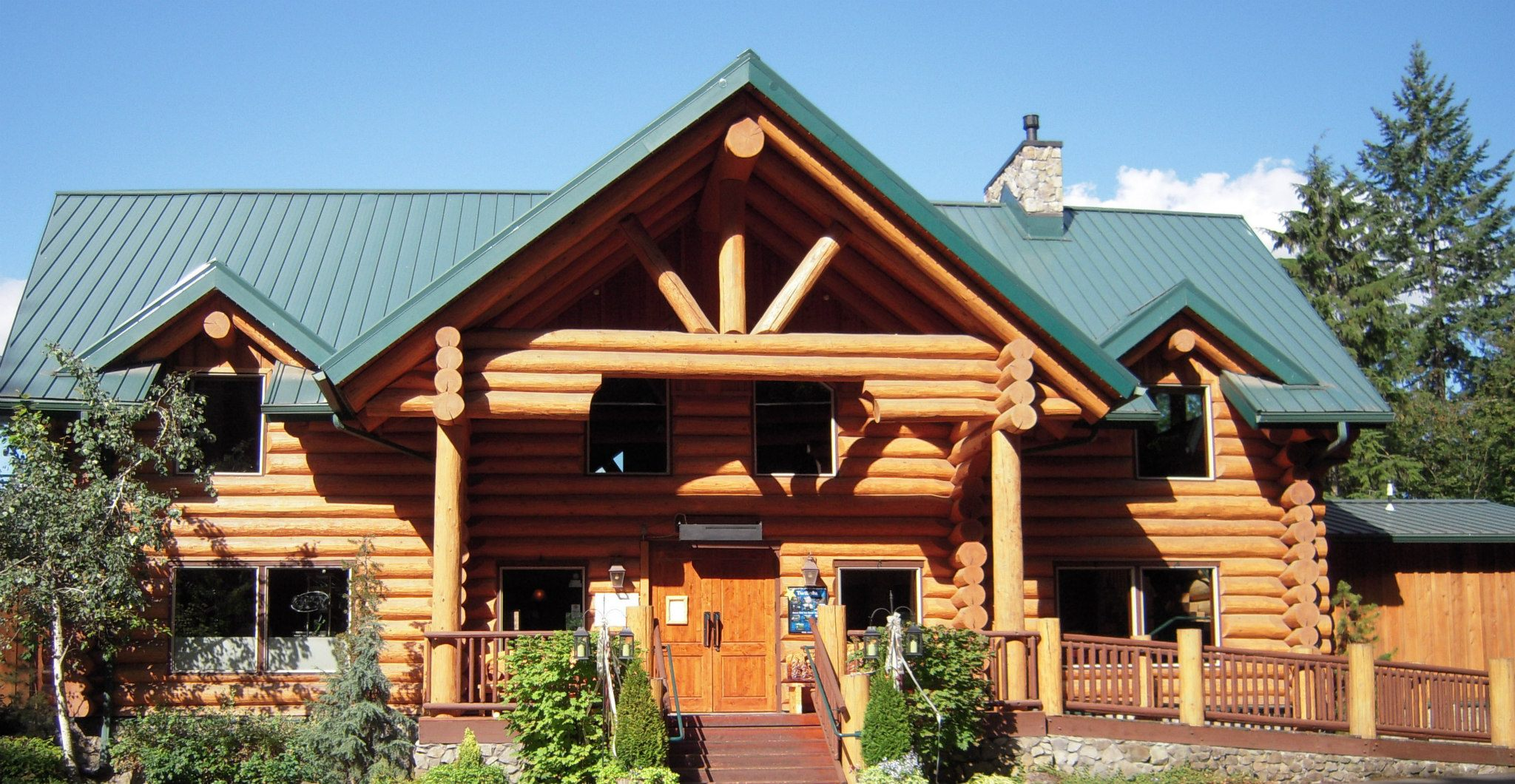 Stone Cliff Inn Is An Enchanting Log Cabin Restaurant In