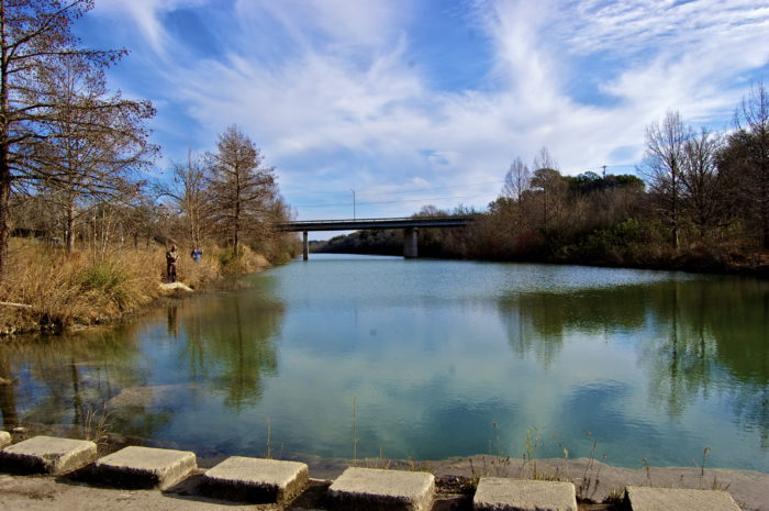 Blanco texas is the best springtime day trip from austin for Blanco state park fishing