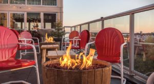 The Wisconsin Camping-Themed Bar With Amazing Rooftop Views