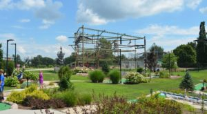 The Sky Trail Ropes Course In Illinois That Anyone Can Conquer