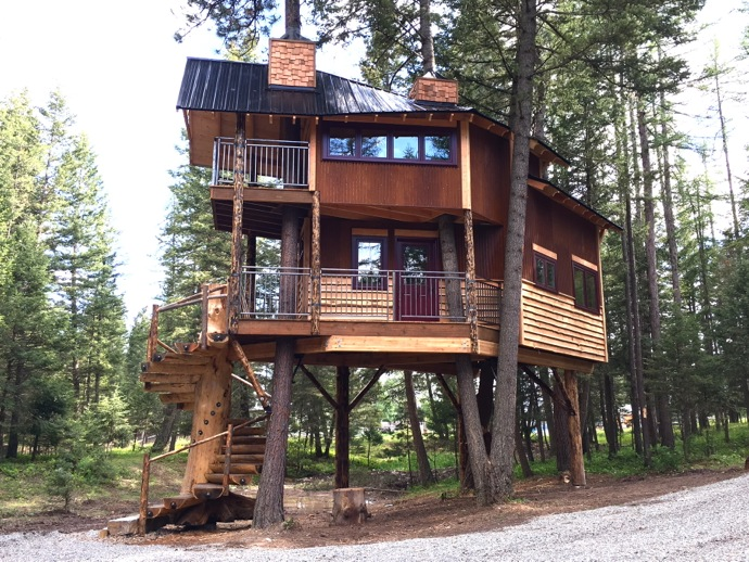 The Montana Treehouse Retreat May Just Be Your New