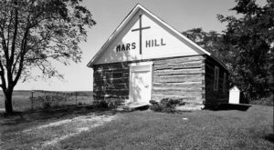 The History Behind This Log Cabin Church In Iowa Is Astounding