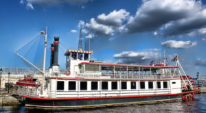 Spend A Perfect Day On This Old-Fashioned Paddle Boat Cruise In Maryland