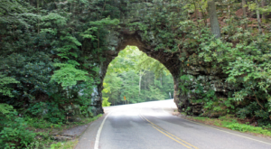 Few People Know This Beautiful Natural Tunnel In Tennessee Even Exists