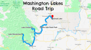 This Weekend Road Trip Takes You To 4 Of Washington's Best Lakes