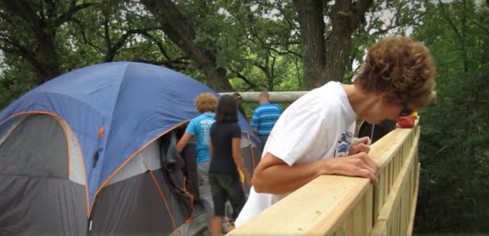 Enjoy Treehouse Camping In Iowa At John 15 Vineyard Resort