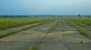 The Abandoned New York Airport That's Been Completely Overtaken By Grasslands