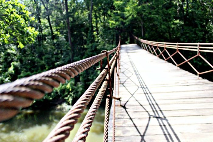 Thought differently, Mississippi swinging bridge personal