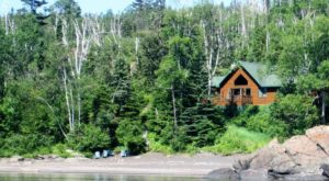 This Dreamy Minnesota Cabin Has Its Own Private Beach And You'll Never Want To Leave