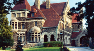 This Enchanting Indiana Castle Has An Amazing Restaurant Hiding Inside