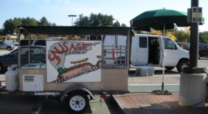 This Tiny Cart In New Hampshire Serves A Sausage Sandwich To Die For