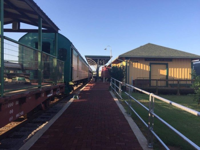 The Old Fashioned Steam Train Ride At The Oklahoma Railway