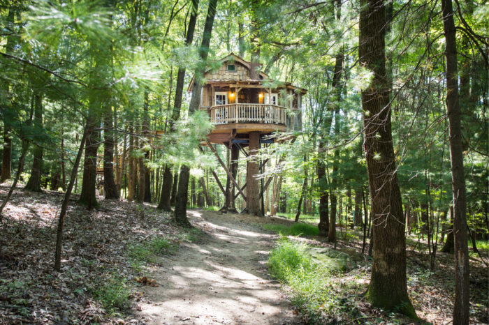 Amazing Treehouse Resort In Ohio The Mohicans Treehouses