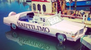 You Can Now Cruise The Florida Keys In A Floating Pink Limo