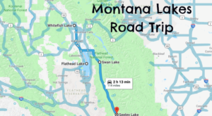 This Weekend Road Trip Takes You To 4 Of Montana's Best Lakes