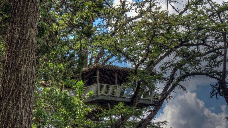 Best Luxury Treehouse Resort In Texas Rio Frio Treetop