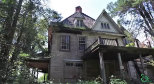 This Creepy Spot Deep In The Woods Of Maryland Is Like Something Out Of A Horror Movie