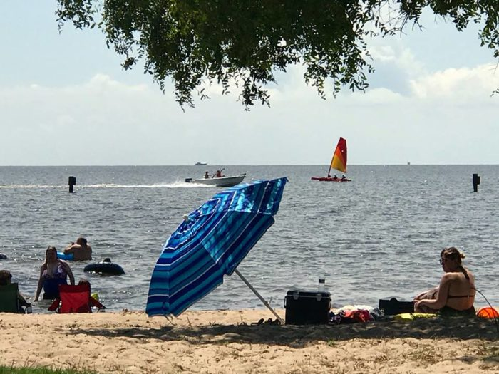The 185 Acre Park Has It All Excellent Fishing A Man Made Beach Pavilions For Gatherings Boat Launcheore