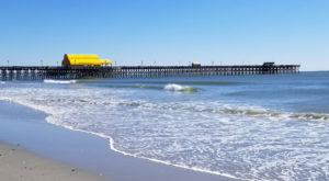 You'll Love A Trip To South Carolina's Longest Pier That Stretches Infinitely Into The Sea