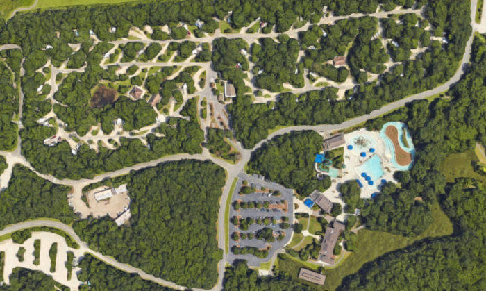 this waterpark campground on james island in south