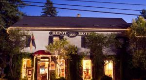 This Restaurant In Northern California Used To Be A Train Depot And You'll Want To Visit