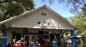 The Stunning Bungalow In Austin That Serves The Best Greek Food Ever