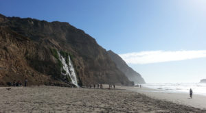 The Hike To This Secluded Waterfall Beach In Northern California Is Positively Amazing