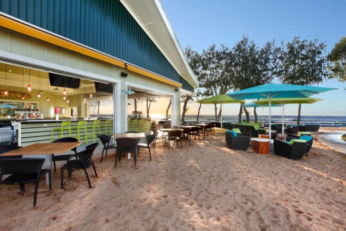 Located At The Newly Renovated Kauai Ss Hotel In Kapaa Lava Beach Club Is One Of Only Toes Sand Restaurants You Ll Find Hawaii