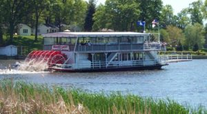 Spend A Perfect Day On This Old-Fashioned Paddle Boat Cruise In Michigan