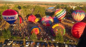 Spend The Day At This Hot Air Balloon Festival In Wyoming For A Uniquely Colorful Experience