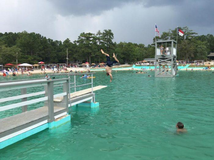 Lake Pine Swim Club, The Natural Lake In North Carolina ...