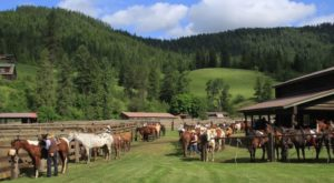 An Overnight Stay At This Dude Ranch In Idaho Is The Perfect Western Getaway