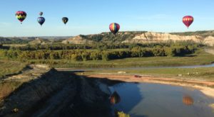 Spend The Day At This Hot Air Balloon Festival In North Dakota For A Uniquely Colorful Experience