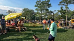 The Connecticut Beer Garden That's So Much More Than A Place To Drink