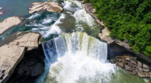 Kentucky's Niagara Falls Is Too Beautiful For Words