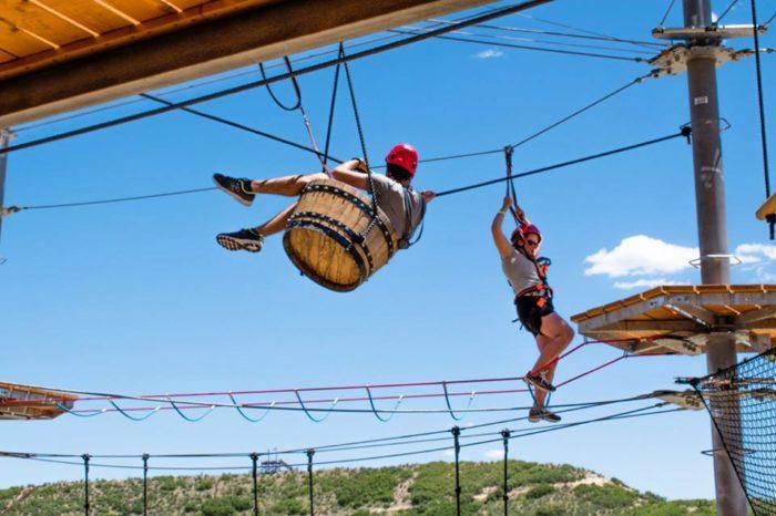 Colorado S Castle Rock Epic Sky Trek Will Test Your Courage