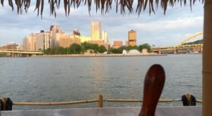 A Trip To This Floating Tiki Bar In Pittsburgh Is The Ultimate Way To Spend A Summer's Day