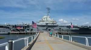 Stay Overnight On An Old WWII Aircraft Carrier Right Here In South Carolina