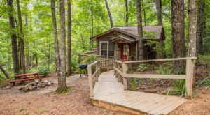 This Log Cabin Campground In South Carolina May Just Be Your New Favorite Destination